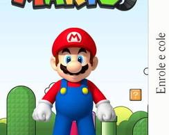 R�tulo para Bisnaga Mario Bros