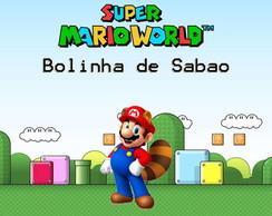 R�tulo Para Bolinha De Sab�o Super Mario