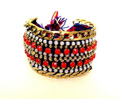 Friendship Bracelet Navy