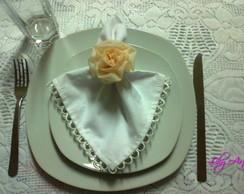 Porta Guardanapo Rosa Dior I