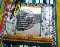 Sacola Foto Poema Relic�rio Urbano