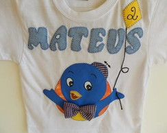 Camiseta infantil backyardigans