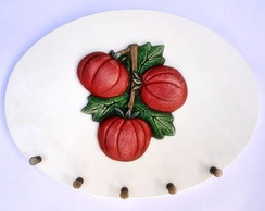 PORTA CHAVES - OVAL - TOMATES