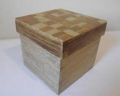 Caixa de bijuteria em Mosaico