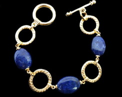 Pulseira Pedras L�pis Lazuli