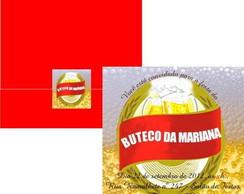 Convite Anivers�rio no Buteco