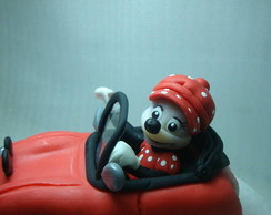 Carro DUB da Minnie/garnish cake