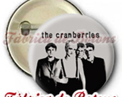 BOTON 2,5cm THE CRANBERRIES