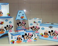 Kit Beb� Baby Disney menino