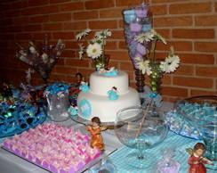 Festa de Batizado Proven�al - decora��o