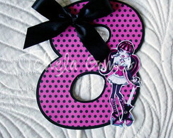 Topper para Bolo - Monster High