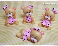 Ursinhas em biscuit