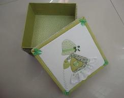 Caixa de patchwork embutido