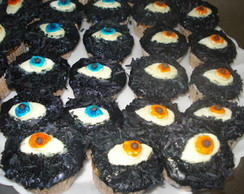cupcake halloween olho
