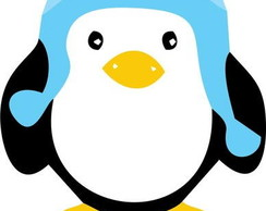 Almofada Batizado Pinguim
