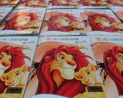 Revista personalizada Rei Le�o