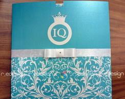 Convite de 15 anos - Envelope -