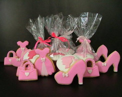 Biscoitos decorados - Barbie
