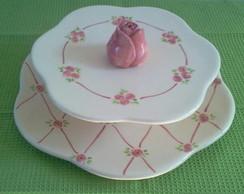 Prato de doces  rosinha