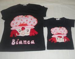 Camisas da Moranguinho Infantil