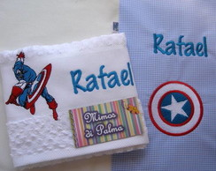 Kit Super Herois (lavabo e Guardanapo)