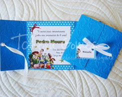 Convite Janelinha - Toy Story