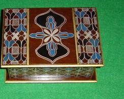 Caixa de ch� em madeira/mdf