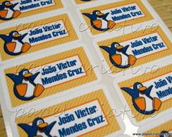 Etiqueta Adesiva Mn - Club Penguin
