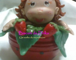 Enfeite Moranguinho/Souvenir Strawberry