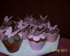Cup Cake Borboleta.