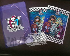 Monster High - Revistinha personaliza