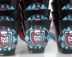Copinho personalizado Monster High