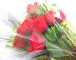 Buqu� de rosas vermelhas
