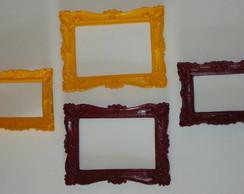 Conjunto Molduras Proven�ais Coloridas