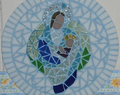 Mandala Maria e o Menino Jesus