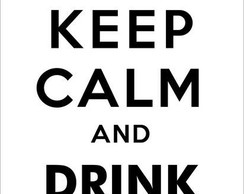 Adesivo Keep Calm and drink tea