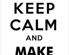 Adesivo Keep Calm and make love