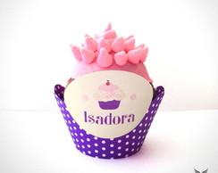 Forminha de Cupcake Uva