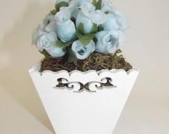 Cachep� de Flores Shabby