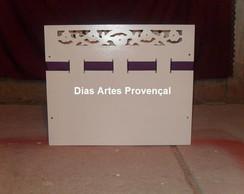 Caixa de presente em mdf