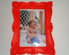 porta retrato em resina para parede