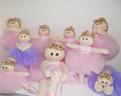 Bonecas de Pano Bailarina