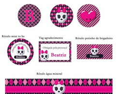 Kit festa p imprimir Monster High