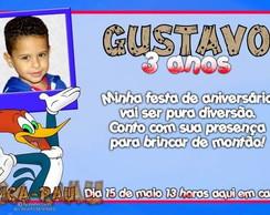 Convite do Pica Pau