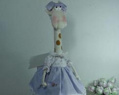 Boneca de Pano Girafa