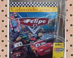 Kit de Colorir Carros
