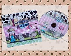 CD/ DVD Personalizado Fazendinha