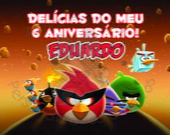 R�tulo Marmitinha Angry Birds