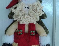 Enfeite de Porta Papai Noel no Pinheiro