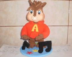enfeite de mesa Alvin